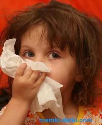 Как лечить простуду ребенку 3 лет