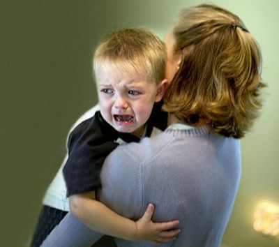 У ребенка частые истерики